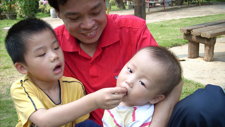 Zhenhao in OneSky's Family Village Program