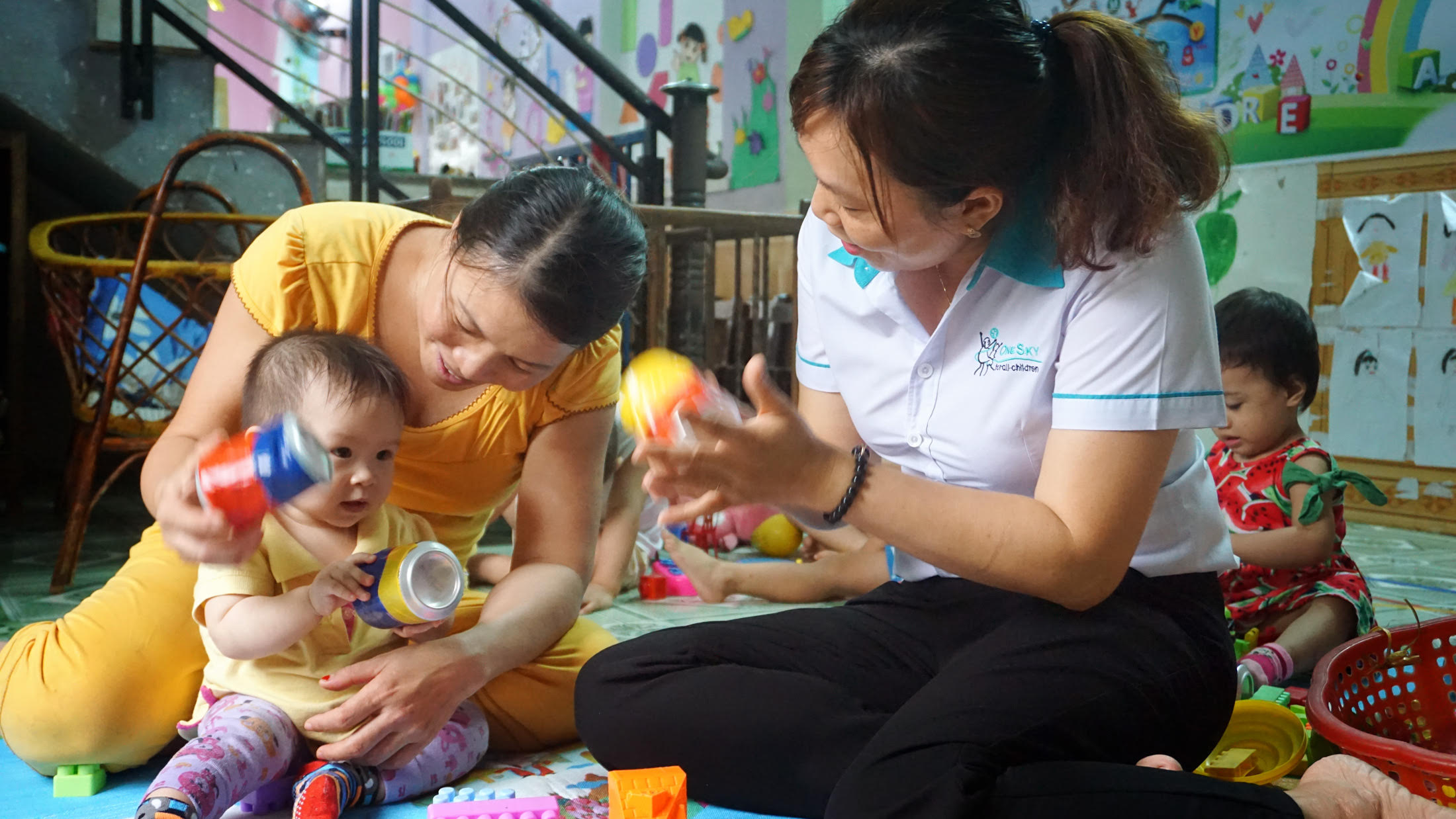 OneSky's home based daycare training in Vietnam