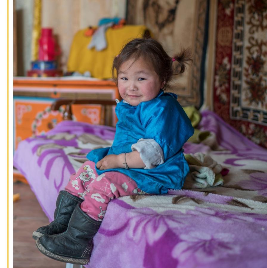 Erhi* from OneSky's program in Mongolia